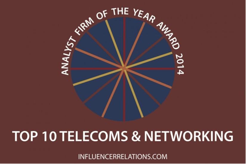 Announcing The Ten Top Telecoms AnalystFirms