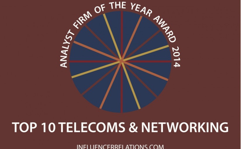 Announcing The Ten Top Telecoms Analyst Firms