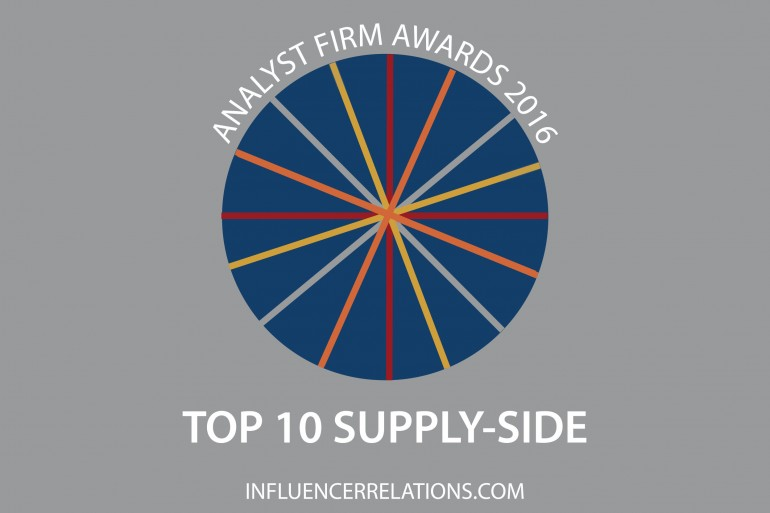 TechMarketView, Ovum & Kable in top 10 supply-side Analyst Firm Awards